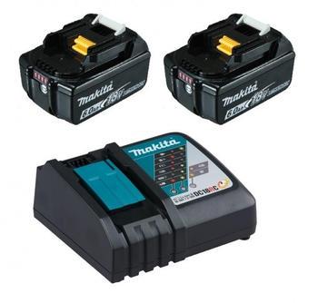 Makita Power Source-Kit DC18RC + 2 x BL1860B (im Karton)
