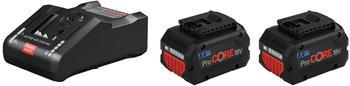 Bosch 2x ProCORE18V 8.0Ah + GAL 18V-160 C Professional Starter-Set (1600A016GP)