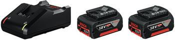 Bosch Starter-Set 2 x GBA 18V 4.0Ah + GAL 18V-40 Professional (1600A019S0)