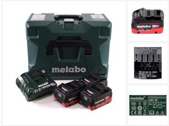 Metabo 18V Basis Set ( 3x 5,5 Ah + ASC 55 + Metaloc)