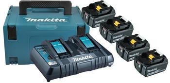 Makita Power Source Kit 4x 6 Ah (198091-4)