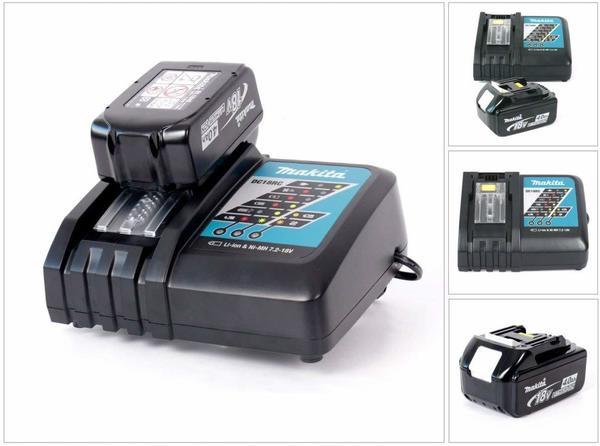 Makita Power-Set DC 18 RC + Akku BL 1840 4 Ah