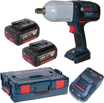 Bosch GDS 18 V-LI HT Professional 2 x 5,0 Ah + L-Boxx (0 601 9B1 30A)
