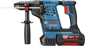 Bosch GBH 36 V-LI Plus Professional (2x 6,0 Ah + Schnellladegerät) in L-Boxx ( 61190600B)