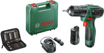 Bosch EasyDrill 1200 inkl. 2 x 1,5 Ah + 38-tlg. Zubehör