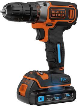 black-decker-blackdecker-akku-bohrschrauber-bdcdc18kbst-18volt-schwarz-orange-transportkoffer-2x-smart-tech