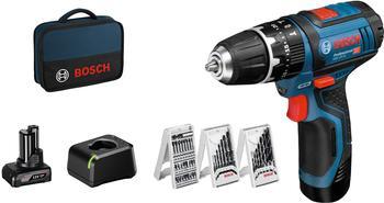 Bosch GSB 12V-15 Professional (1 x 4,0 Ah + 1 x 2,0 Ah)