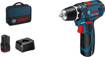 Bosch GSR 12V-15 Professional (2 x 2,0 Ah Akku)