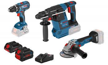 Bosch Combo Kit GSR 18V-28 + GWS 18V-10 C + GBH 18V-26 (0 615 990 L51)