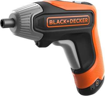Black & Decker Akku-Schrauber BCF611CK 3,6Volt orange/schwarz