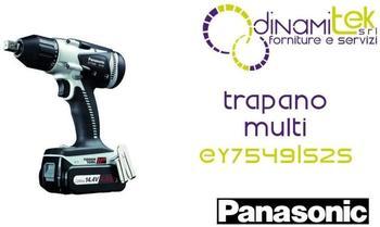 Panasonic Electric Works Europe AG Panasonic Akku Ergo-Schlagschrauber EY 7549 LS 2S Black 14.4 Volt 4.2Ah