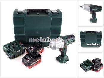 Metabo SSW 18 LTX 600 ( 2x 5,5 Ah + Ladegerät + Koffer)