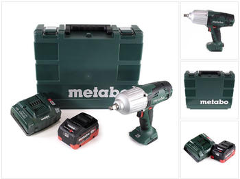 Metabo SSW 18 LTX 600 ( 1x 5,5 Ah + Ladegerät + Koffer)