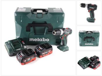metabo-sb-18-l-bl-akku-schlagbohrschrauber-18-v-60-nm-brushless-2x-lihd-akku-5-5-ah-ladegeraet
