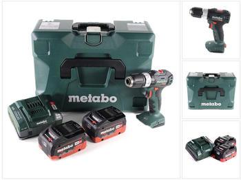 metabo-sb-18-l-bl-akku-schlagbohrschrauber-18-v-60-nm-brushless-2x-lihd-akku-8-0-ah-ladegeraet