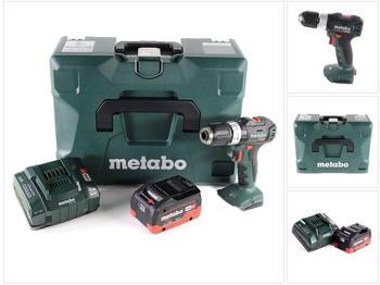 metabo-sb-18-l-bl-akku-schlagbohrschrauber-18-v-60-nm-brushless-1x-lihd-akku-8-0-ah-ladegeraet
