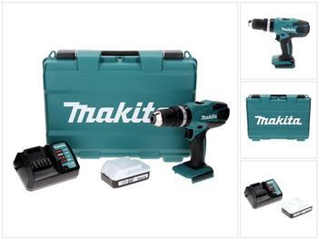 Makita HP457DW (1x Akku 1,5 Ah)