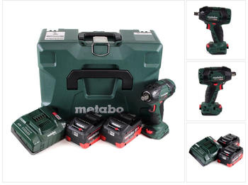 Metabo SSW 18 LTX 300 BL (2x 5,5 Ah + Ladegerät + Koffer)