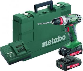 Metabo BS 18 Quick (2 x 2,0 Ah + Ladegerät im Koffer) (602217950)