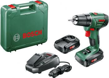 Bosch PSR 1800 LI-2 (2 x 1,5 Ah + Ladegerät im Koffer)