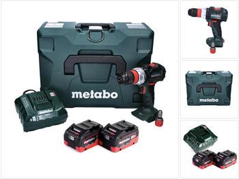 Metabo BS 18 LT BL Q (2x8,0 Ah + Ladegerät + MetaLoc)