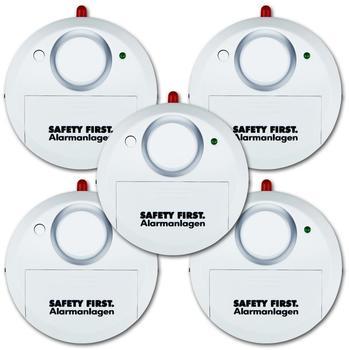 KH-Security kh security Glasbruchalarm, Safety First weiß,