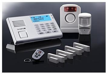 Olympia Protect 9061 GSM Funk Alarmanlage Super-Set, Weiß