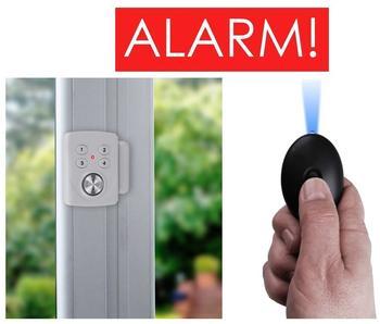 Smartwares Sicherheits-Set - Mini-Alarm für Fenster, Tür und Personenalarm