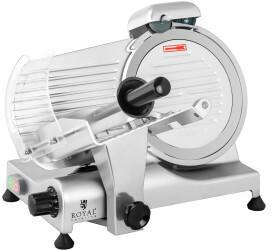 Royal Catering Gastro Aufschnittmaschine Allesschneider Wurstschneidemaschine 25Cm/1,2 Cm 320W