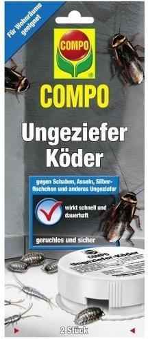 Compo Ungeziefer-Köder 2er Pack