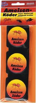 Braeco Ameisen-Köderdose 3 Stk.