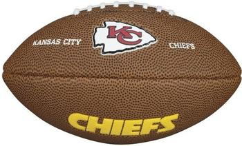 Wilson NFL Team Logo Mini Kansas City Chiefs