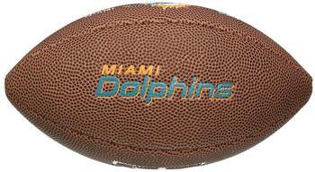 Wilson NFL Team Logo Mini Miami Dolphins