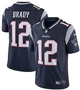 Nike NFL New England Patriots Trikot Brady Nr. 12