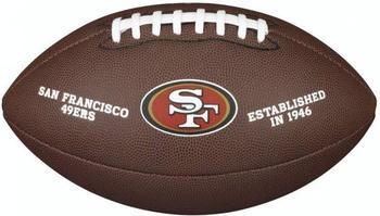 Wilson NFL Team Logo San Francisco 49ers