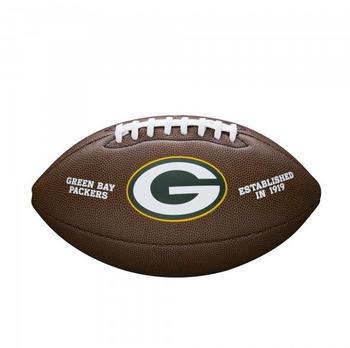 Wilson Football Team Logo Green Bay Packers (WTF1748XBGB)