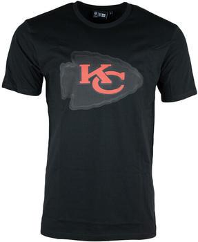 New Era Kansas City Chiefs Outline Graphic T-Shirt (12820565) black