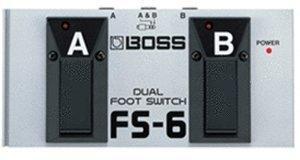 Boss FS-6 Dual
