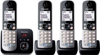 Panasonic KX-TG6824 Quattro schwarz