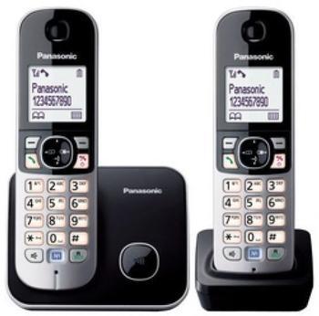 Panasonic KX-TG6812 Duo schwarz