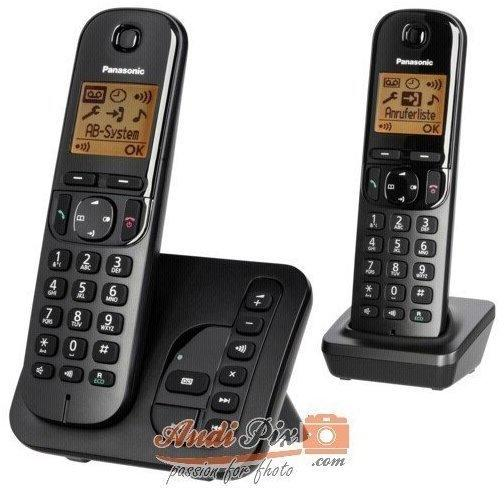 Panasonic KX-TGC222 Duo schwarz