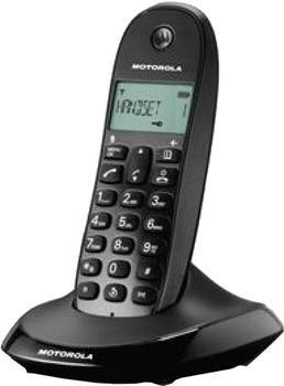 Motorola C1001 Single schwarz