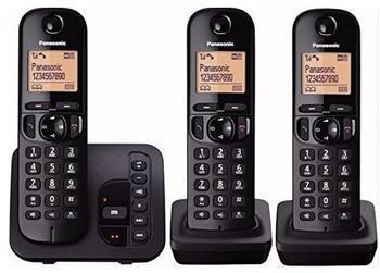 Panasonic KX-TGC223 Trio schwarz