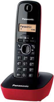 Panasonic KX-TG 1611 schwarz/rot