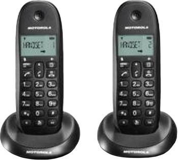 Motorola C1002 Twin schwarz