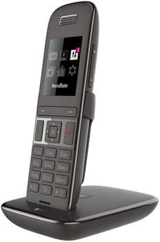 Telekom Speedphone 51 mit Basis und Anrufbeantworter - ebenholz