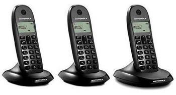 Motorola C1003 Trio black