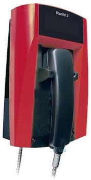 FHF FernTel 3 Wetterfestes Telefon schwarz/rot