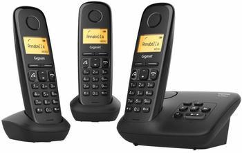 Gigaset A270A Analog/DECT telephone Anrufer-Identifikation Schwarz
