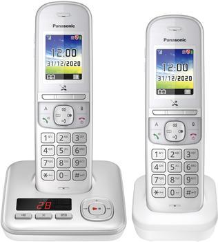 Panasonic KX-TGH722 Duo silber